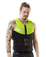 Жилет страховочный мужской JOBE Neoprene Vest XL+ лайм