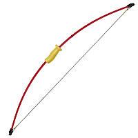 Лук Man Kung RB011 (длина: 1290мм, сила натяжения: 6,8кг), комплект, красный/жёлтый