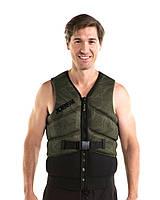 Жилет страховочный мужской JOBE Unify Vest 2XL+ мраморно-зеленый