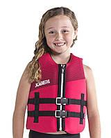 Жилет страховочный детский JOBE Neoprene Vest Youth 12 ярко-розовый