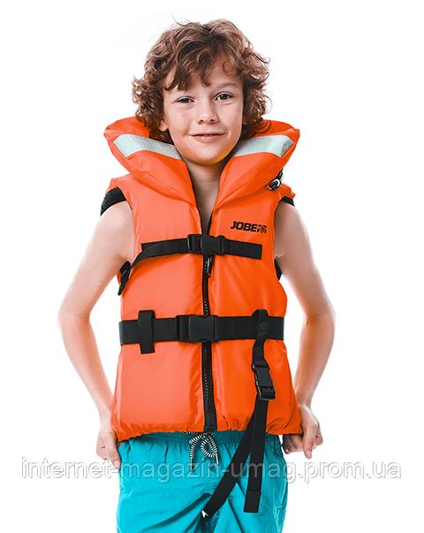 Жилет рятувальний дитячий JOBE Comfort Boating Vest Youth ISO 4XS помаранчевий