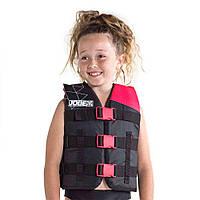 Жилет страховочный детский JOBE Nylon Vest Youth ярко-розовый