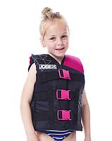 Жилет страховочный детский JOBE Nylon Vest Youth розовый