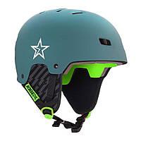 Шлем для водных видов спорта JOBE Base Helmet L темный сине-зеленый
