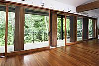 Наклонно-раздвижные системы: окна и двери Rehau
