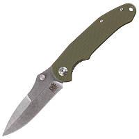 Нож складной Skif Mouse (длина: 200мм, лезвие: 85мм), оливковый
