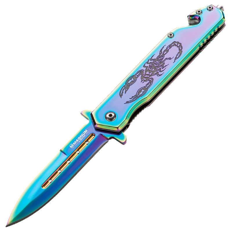 Нож складной Boker Magnum Dream Scorpion (длина: 207мм, лезвие: 87мм), стальной