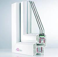 Окно металопластиковое REHAU BRILLANT-DESIGN