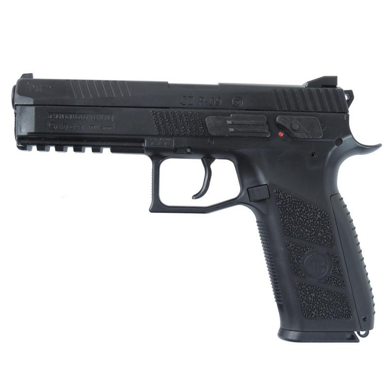Пистолет пневматический ASG CZ P-09 Pellet Blowback (4,5mm), черный
