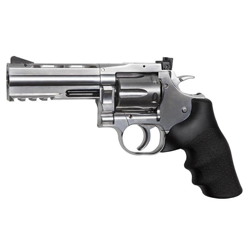 """Револьвер пневматический ASG DW 715 Pellet (4"""", 4,5mm), черный"""