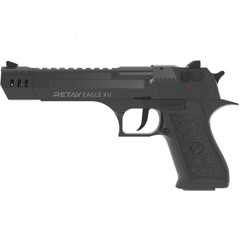 Сигнальний пістолет, стартовий Retay Desert Eagle XU (9мм, 18+1 зарядів), чорний