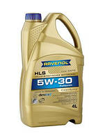 Ravenol HLS SAE 5W-30 (Low Saps)  кан.4л –  синтетическое легкотекучее моторное масло