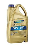 Ravenol HLS SAE 5W-30 (Low Saps)  кан.4л –  синтетическое легкотекучее моторное масло, фото 1