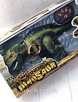 Интерактивный Тиранозавр Рекс на пульте управления