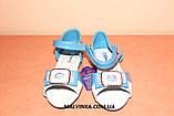 Босоножки на девочку  26,29,30 р Apawwa арт 2815 голубые., фото 2