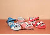 Босоножки на девочку  26,29,30 р Apawwa арт 2815 голубые., фото 8