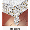 Клеенка (6052B) силиконовая, без основы, рулон. Китай. 1,37м/30м