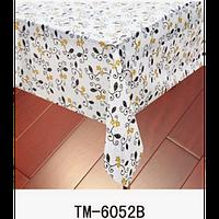 Клеенка (6052B) силиконовая, без основы, рулон. Китай. 1,37м/30м, фото 1