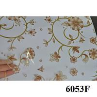 Клеенка (6053F) силиконовая, без основы, рулон. Китай. 1,37м/30м, фото 1