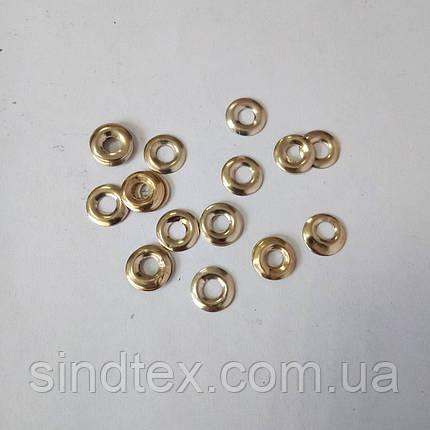 №32 SALE ОПТ від 6000шт Хольнитен клейовий з отвором 10мм, хром, фото 2