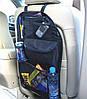 Карман на спинку автомобиля органайзер сидения Estcar черный  60*30 см (151-318)
