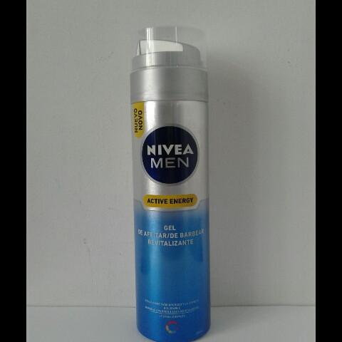 Гель мужской для бритья Nivea Energy 200 мл. (Нивея Заряд енергии)