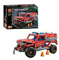 Конструктор Bela Technica 10824 (18) 2 в 1, Пожарная машина, 513 деталей
