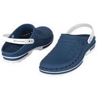 Обувь медицинская Wock, модель CLOG04 (бело-синие)