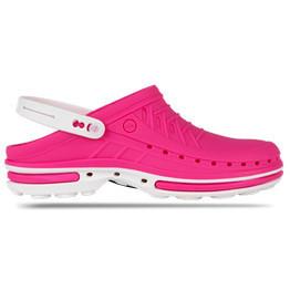 Обувь медицинская Wock, модель CLOG09 (Бело-розовые)