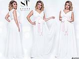 Шикарное вечернее платье, отлично подчеркивает декольте 48-52р.(7расцв) , фото 10