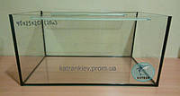 Аквариум 40*25*20 прямой/овальный стекло 4 мм