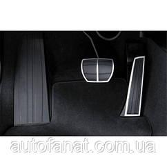 Оригинальные накладки на педали BMW Performance (АКПП) BMW 3 (Е90) (35000410100)