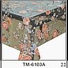 Клеенка (6103A) силиконовая, без основы, рулон. Китай. 1,37м/30м
