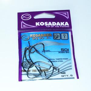 Крючок Kosadaka офсетный SOI (3025 BN) № 2/0