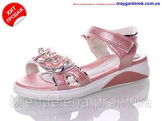 Яркие стильные босоножки для девочки р27-32 (код 8994-00)