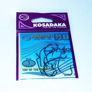Крючок Kosadaka офсетный SOI (3025 BN) № 1