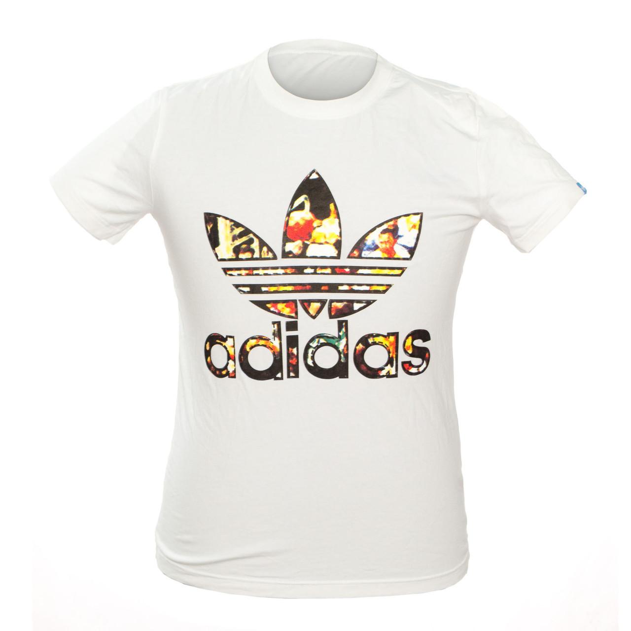 Чоловіча Футболка Adidas 101628494 M White