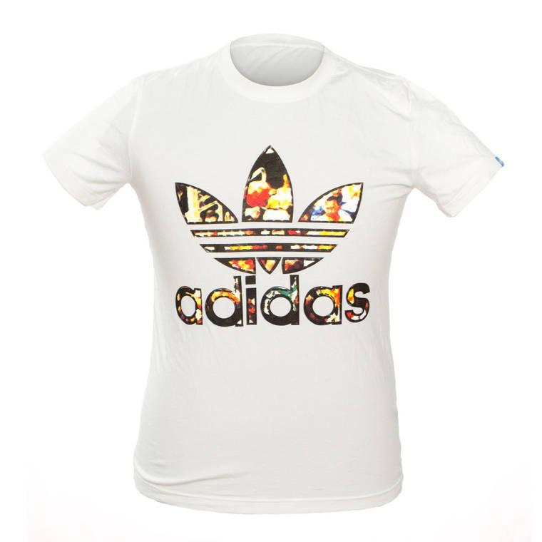Чоловіча Футболка Adidas 101628494 M White, фото 2