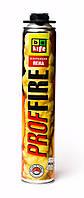 Профессиональная огнестойкая монтажная пена B2 BeLife, 750мл/900г