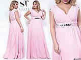 Шикарное вечернее платье, отлично подчеркивает декольте 48-52р.(8расцв) , фото 3