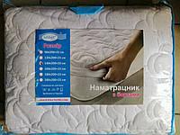 Наматрасник с бортами на кровать, размер 200х90х23см, хлопок, ТМ Leleka, фото 1