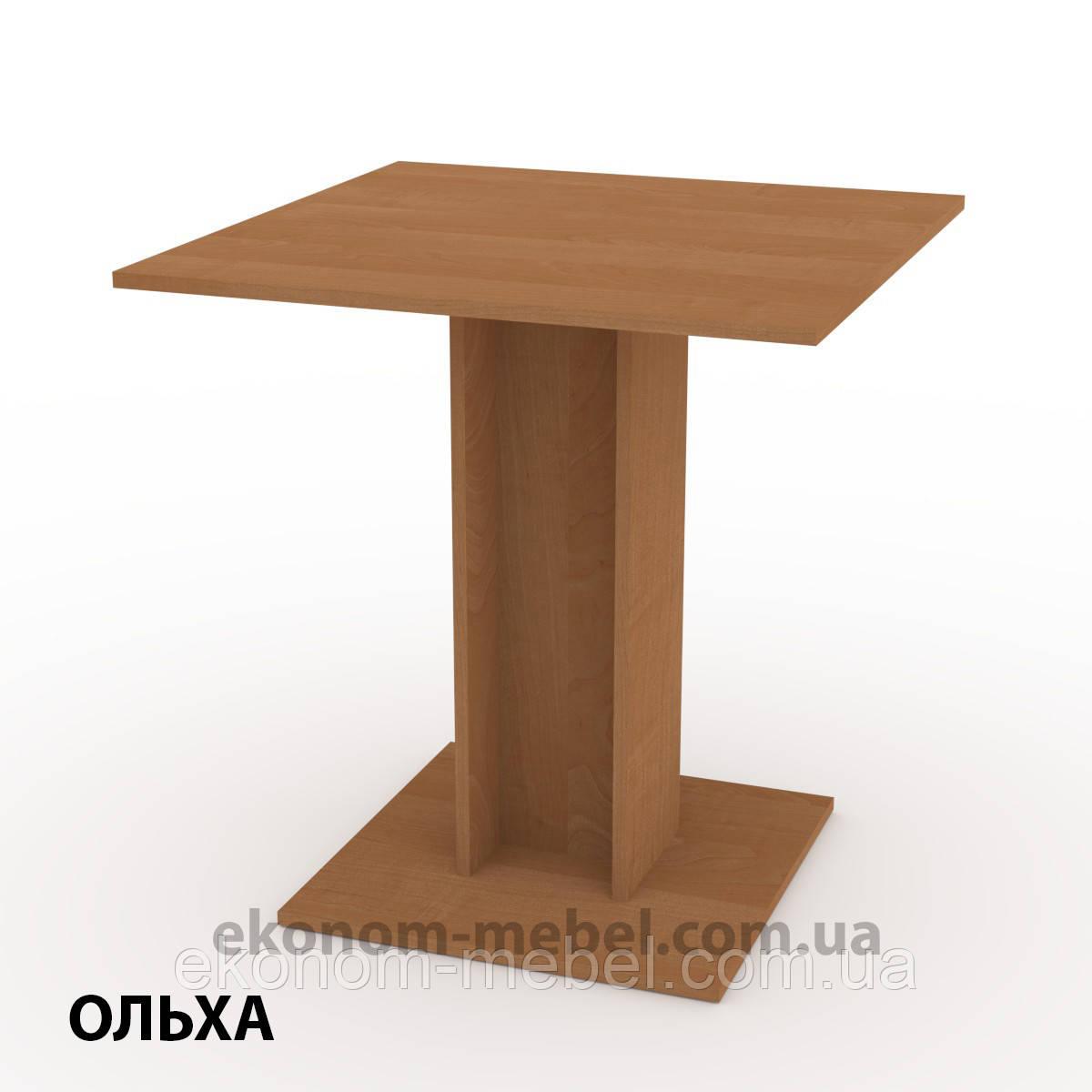 Кухонный стол КС-7 маленький нераскладной