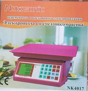 Электронные весы Nokasonic NK4017 40кг , фото 2