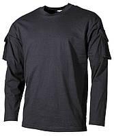Боевая рубаха USA, черная, 100% cotton