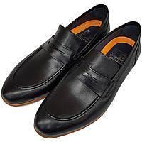 5298094d2ff882 Мужские туфли лоферы черного цвета Luciano Bellini L0022/22