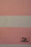 Рулонные шторы день-ночь розовые ВН-10