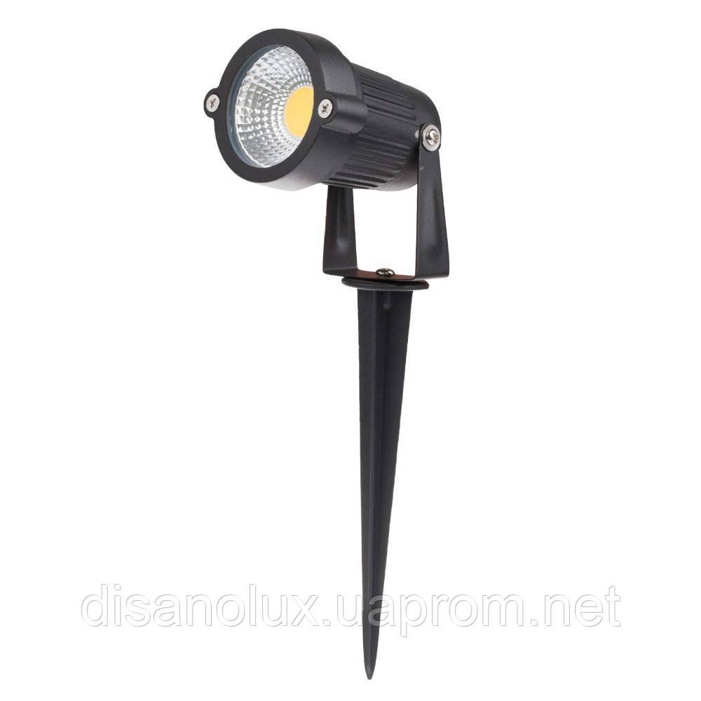 Світильник ландшафтний OL-01 Spike в грунт COB LED 9W/ 6500К 230V IP65