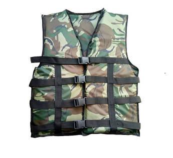 Страховочный жилет Aqua-Storm 50-70 кг  (2001.1) камуфляж