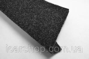 Ковролін Темно-сірий акустичний/ Ширина 1,4 м
