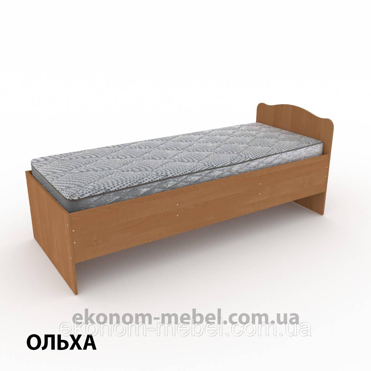 Кровать-80 односпальная эконом-класса